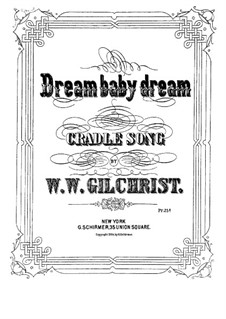 Dream Baby Dream: Dream Baby Dream by William Wallace Gilchrist