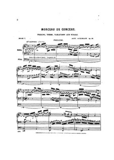 Pièces dans different styles for Organ: Heft 7, Op.24 by Alexandre Guilmant