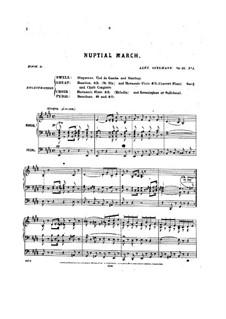 Pièces dans different styles for Organ: Heft 8, Op.25 by Alexandre Guilmant