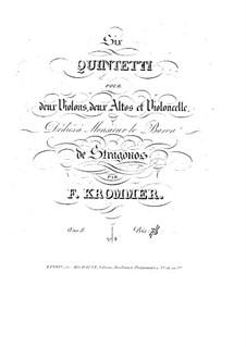 Streichquintett in F-Dur, Op.8 No.4: Streichquintett in F-Dur by Franz Krommer