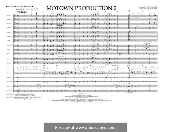 Motown Production 2: Vollpartitur by Stevie Wonder