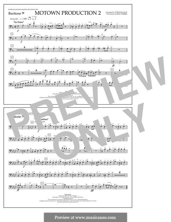 Motown Production 2: Baritone B.C. part by Stevie Wonder