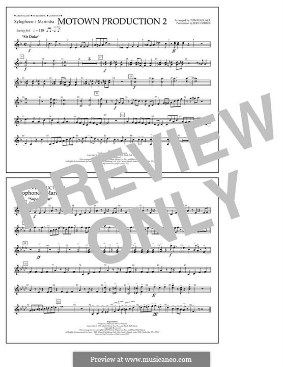 Motown Production 2: Xylophone/Marimba part by Stevie Wonder