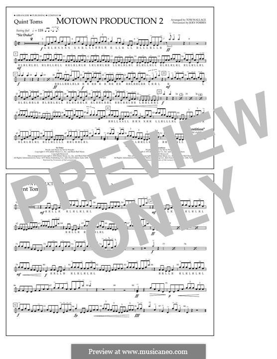 Motown Production 2: Quint-Toms part by Stevie Wonder