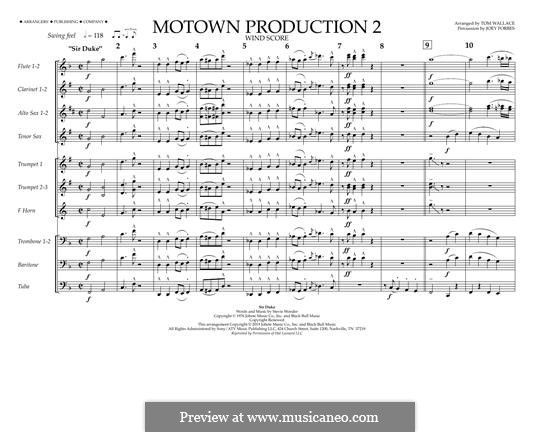 Motown Production 2: Wind Score by Stevie Wonder