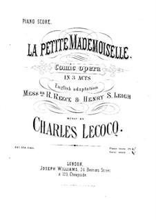 La petite mademoiselle: La petite mademoiselle by Charles Lecocq