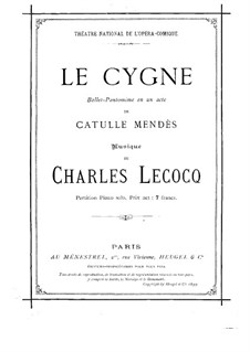 Le cygne: Le cygne by Charles Lecocq