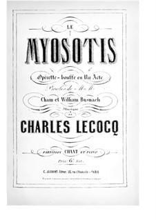 Le myosotis: Le myosotis by Charles Lecocq