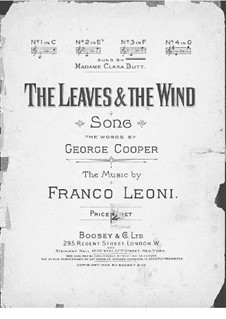 The Leaves and the Wind: The Leaves and the Wind by Franco Leoni