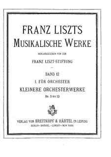 Vom Fels zum Meer, S.229: Vollpartitur by Franz Liszt