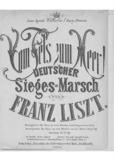 Vom Fels zum Meer, S.229: Klavierauszug by Franz Liszt