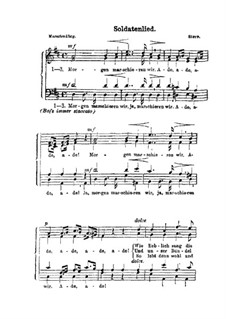 Soldatenlied: Soldatenlied by Julius Stern