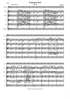 Konzert für Cello und Klavier Nr.2 in e-Moll, Op.24: Teil I by David Popper