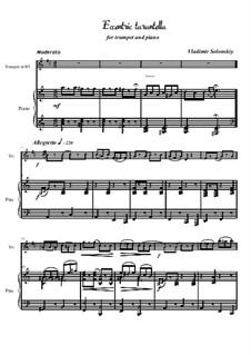 Чудаковатая тарантелла: Для трубы и фортепиано by Vladimir Solonskiy