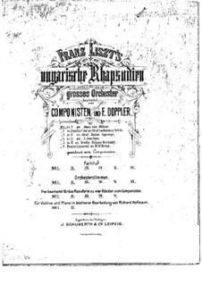 Nr.14 in f-Moll, für Klavier, vierhändig, S.621/1: Nr.14 in f-Moll, für Klavier, vierhändig by Franz Liszt