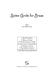 Seven Carols for Brass – Brass Quintet: Seven Carols for Brass – Brass Quintet by folklore
