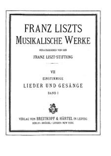 Der alte Vagabund, S.304: Der alte Vagabund by Franz Liszt