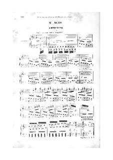 Quentin Durward: Akte II-III, für Solisten, Chor und Klavier by François-Auguste Gevaert