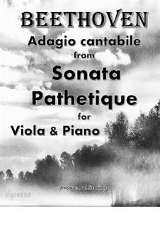 Teil II: For Viola & Piano by Ludwig van Beethoven
