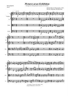 Vollständiger Zyklus: Für Streichquartett by Modest Mussorgski