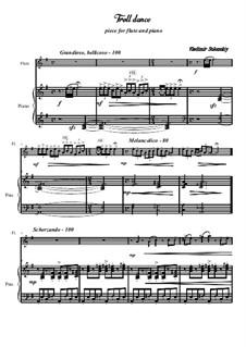 Troll dance: Für Flöte und Piano by Vladimir Solonskiy