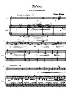 Troll dance: Für Oboe und Klavier by Vladimir Solonskiy