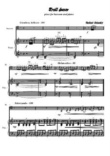 Troll dance: Für Fagott und Klavier by Vladimir Solonskiy