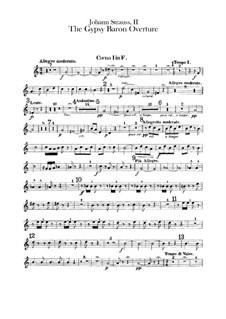 Der Zigeunerbaron: Ouvertüre – Waldhornstimmen by Johann Strauss (Sohn)