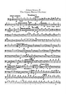 Der Zigeunerbaron: Ouvertüre – Posaunenstimme by Johann Strauss (Sohn)