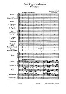 Der Zigeunerbaron: Ouvertüre by Johann Strauss (Sohn)