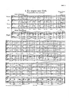 Deutsche Kirchenlieder, S.669a: Deutsche Kirchenlieder by Franz Liszt