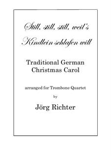 Still, Still, Still: Für Posaunenquartett by folklore