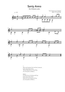 Santy Anno: Für Gitarre by folklore