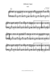 Johnny Cope: Für Akkordeon by folklore