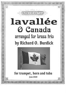 Ô Canada: For wind trio by Calixa Lavallée