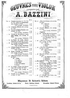 Grosser Etüde Nr.1, Op.49: Violinstimme by Antonio Bazzini