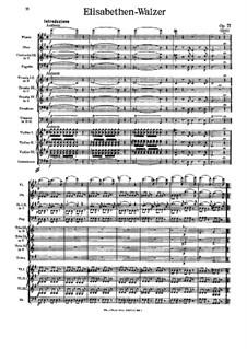 Elisabethen-Walzer, Op.71: Elisabethen-Walzer by Johann Strauss (Vater)