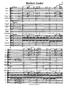 Masken-Lieder, Op.170: Masken-Lieder by Johann Strauss (Vater)