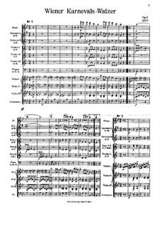 Wiener Karnevals-Walzer, Op.3: Wiener Karnevals-Walzer by Johann Strauss (Vater)