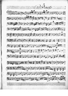 Cembalokonzert in D-Dur: Cellostimme by Niccolò Jommelli