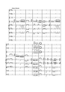 Konzert für Klarinett und Orchester in A-Dur, K.622: Movement 3 by Wolfgang Amadeus Mozart