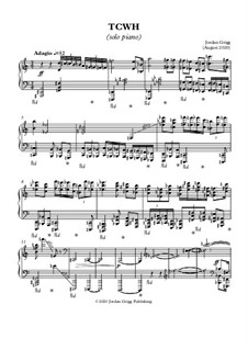 TCWH (solo piano): TCWH (solo piano) by Jordan Grigg