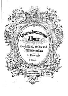 Die Lorelei. Paraphrase über das Lied F. Silcher, Op.17: Die Lorelei. Paraphrase über das Lied F. Silcher by Josef Nesvadba
