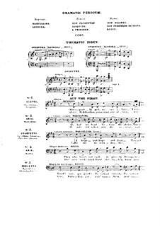 Leonora. Ouvertüren Nr.1, 2, Op.72b, 138: Version für Klavier by Ludwig van Beethoven
