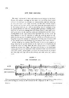 Fragmente: Akt II, Klavierauszug mit Singstimmen by Ludwig van Beethoven