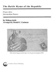 Battle Hymn of the Republic: Für Klavier by William Steffe
