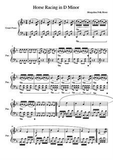 Horse Racing in D minor: Horse Racing in D minor by folklore