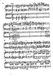 Konzert for Klavier und Orchester Nr.1, Op.15: Teil II für zwei Klaviere, vierhändig by Ludwig van Beethoven