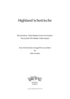 Highland Schottische (The Keel Row / Wha Didnae Fecht For Charlie / The Lad Wi' The Plaidie / Kafoozalum): Highland Schottische (The Keel Row / Wha Didnae Fecht For Charlie / The Lad Wi' The Plaidie / Kafoozalum) by folklore