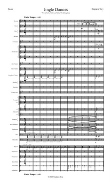 Jingle Dances (Score and Parts): Jingle Dances (Score and Parts) by Stephen Troy